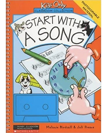 Start With A Song - (Book + Cassette) - Photocopiable Material