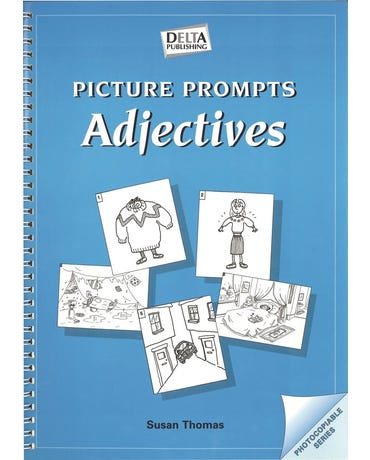 Picture Prompts: Adjectives (Photocopiable)