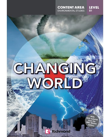 Changing World - DVD Readers - Level B1 - Book With DVD