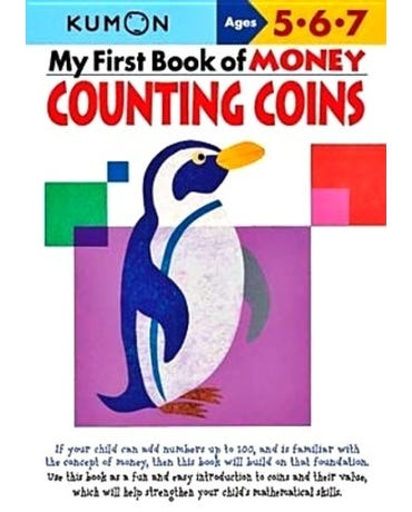 My First Book Of Money Counting Coins - Ages 5-6-7