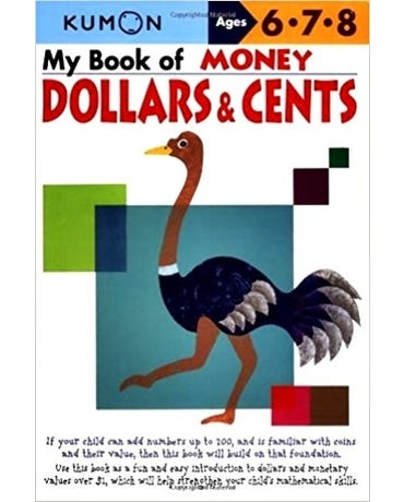 My Book Of Money Dollars & Cents - Ages 6-7-8