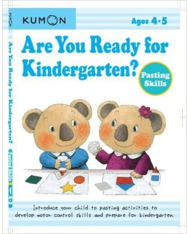 Are You Ready For Kindergarten? Pasting Skills - Ages 4-5