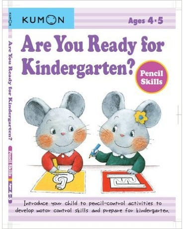 Are You Ready For Kindergarten? Pencil Skills - Ages 4-5