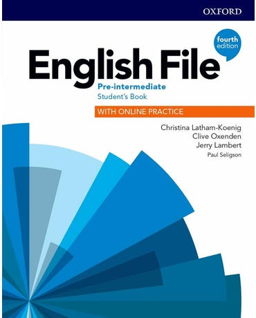 Cooplem (2021.2) - English File Pre-Intermediate - Student's Pack - Fourth Edition
