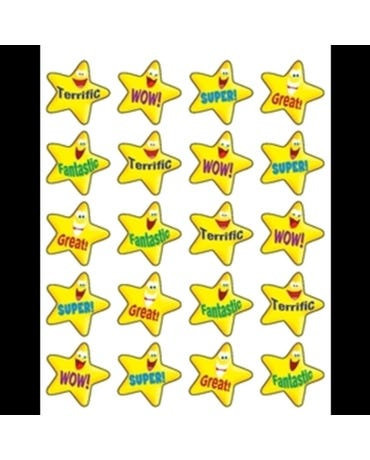 Encouraging Stars Stickers (Tcr5126)